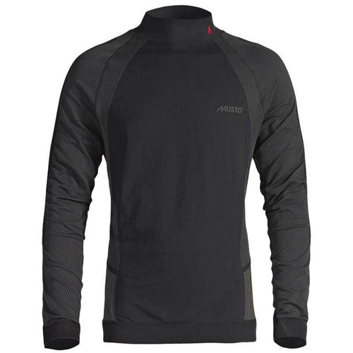 Musto Active Base Layer Long Sleeve Top - Black