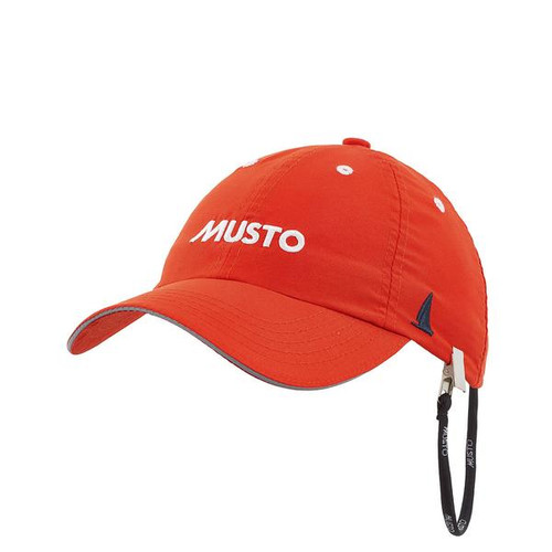Musto Fast Dry Crew Cap - Fire Orange