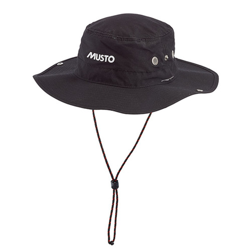 Musto Fast Dry Brimmed Hat - Black