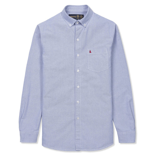 Musto Aiden Oxford Shirt - Pale Blue