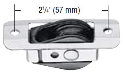 Harken Bullet Thru Deck for Wire w/Stainless Coverplate (HK288)