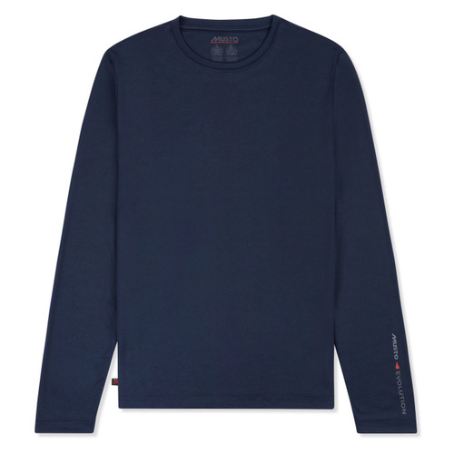 Musto Sunshield Long Sleeve T-shirt - True Navy