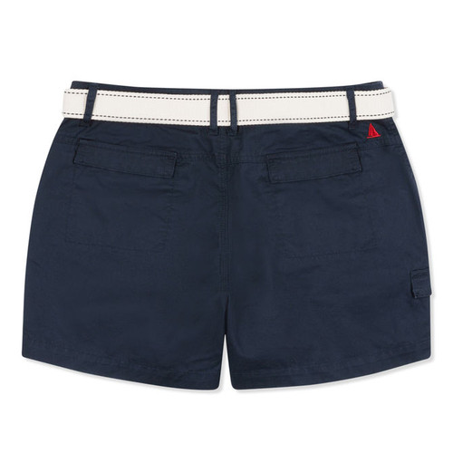Musto Tack Cotton Shorts - True Navy (back)