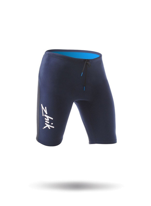 Zhik Microfleece V Shorts - Navy (side)