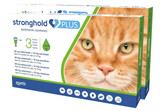 Stronghold PLUS for Large Cats 11-22 lbs (5-10 kg) - Green 6 Doses