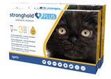 Stronghold PLUS for Small Cats up to 5.5 lbs (up to 2.5 kg) - Gold 6 Doses