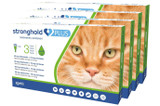 Stronghold PLUS for Large Cats 11-22 lbs (5-10 kg) - Green 12 Doses