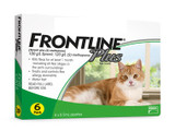 Frontline Plus for Cats Green 6 Doses (09/2022 Expiry)