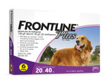 Frontline Plus for Dogs 20.1-40 kg (45-88 lbs) - Purple 6 Doses (05/2023 Expiry)