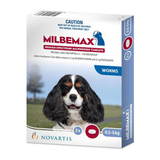 Milbemax Allwormer for Dogs under 5 kg (under 11 lbs) - 2 Tablets