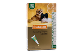 Advocate for Dogs under 4 kg (under 9 lbs) - Green 3 Doses