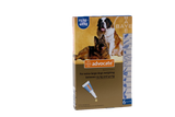Advocate for Dogs over 25 kg (over 55 lbs) - Blue 6 Doses