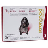 Stronghold for Dogs 10.1-20 kg (20.1-40 lbs) - Red 3 Doses