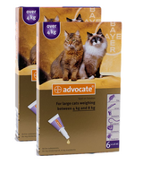 Advocate for Cats over 4 kg (over 9 lbs) - Purple 12 Doses