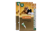 Advocate for Dogs under 4 kg (under 9 lbs) - Green 6 Doses