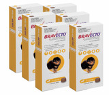 Bravecto Flea and Tick Chew for Dogs 2-4.5 kg (4.4-9.9 lbs) - Yellow 6 Chews