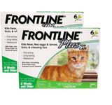 Frontline Plus for Cats Green 12 Doses (09/2022 Expiry)