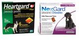 NexGard and Heartgard Combo for Dogs 10.1-22 kg (24.1-50 lbs) - 6 Month Bundle