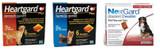 NexGard and Heartgard Combo for Dogs 45-60 kg (100.1-121 lbs) - 6 Month Bundle