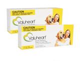 Valuheart månatliga hjärtmasktabletter för stora hundar 21-40 kg (45-88 lbs) - Guld 12 tabletter