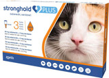 Stronghold PLUS for Medium Cats 2.5-5 kg (5.5-11 lbs) - Orange 3 Doses