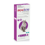 Bravecto Topical Solution for Cats 6.25-12.5 kg (13.8-27.5 lbs) - Purple 2 Doses