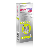 Bravecto PLUS Topical Solution for Cats 1.2-2.8 kg (2.6-6.2 lbs) - Green 1 Dose