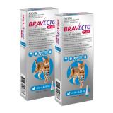 Bravecto PLUS Topical Solution for Cats 2.8-6.25 kg (6.2-13.8 lbs) - Blue 2 Doses