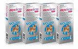 Bravecto PLUS Topical Solution for Cats 2.8-6.25 kg (6.2-13.8 lbs) - Blue 4 Doses