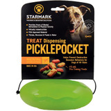 Starmark Pickle Pocket Treat Dispensing Toy For Dogs