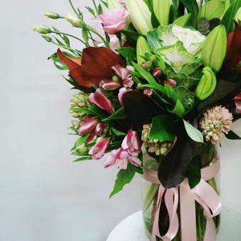 Glass Vase - Florist Choice Flowers