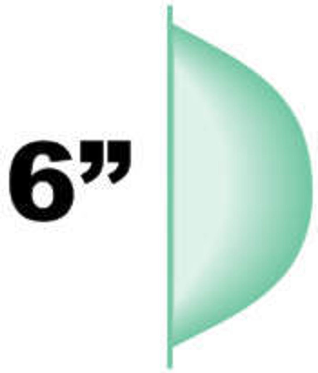 """6"""" Bubble Profile"""
