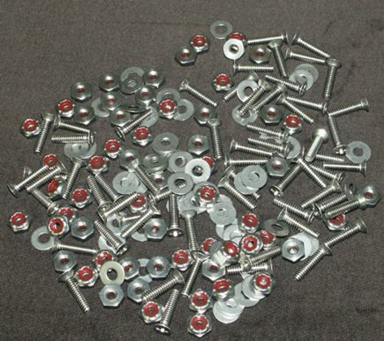 ROUND HEAD - 75pc Windshield SS Screw Kit (Not Pictured)