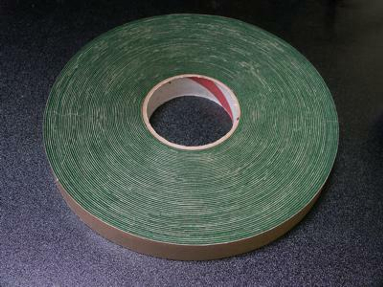 "1.25"" Felt Tape Roll - Green - Thin"