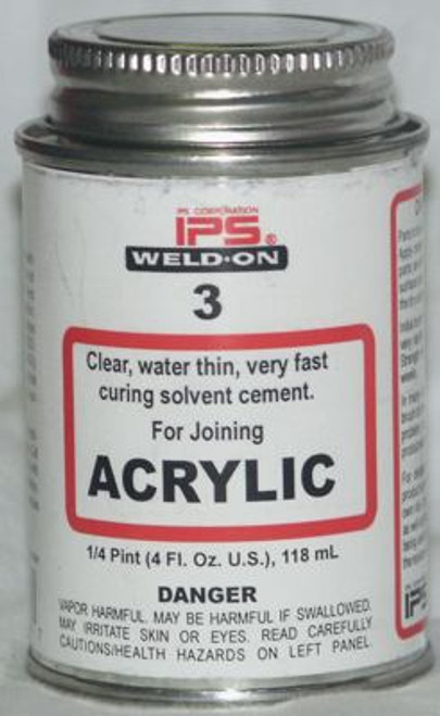 Weld On #3 - Water thin Acrylic bond