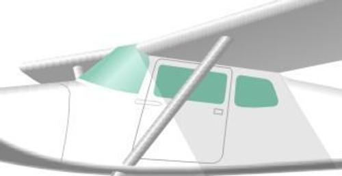 Cessna 172B, 175, 175A, 175B Windshield & Window Set