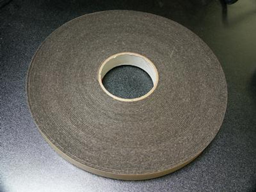 "1"" Felt Tape Roll - Gray"