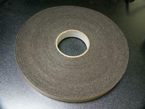 "2"" Felt Tape Roll - Gray"