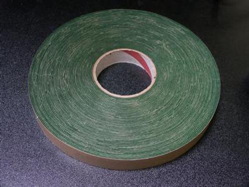 """1"""" Felt Tape Roll - Green - Thin"""