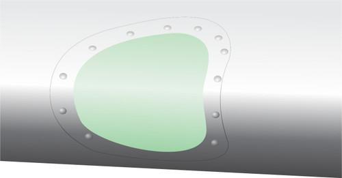 2608 - DeHavilland Beaver Landing Light Lens