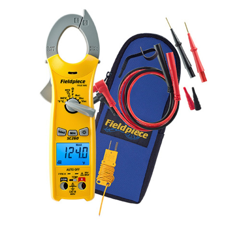 Compact Clamp Meter with True RMS