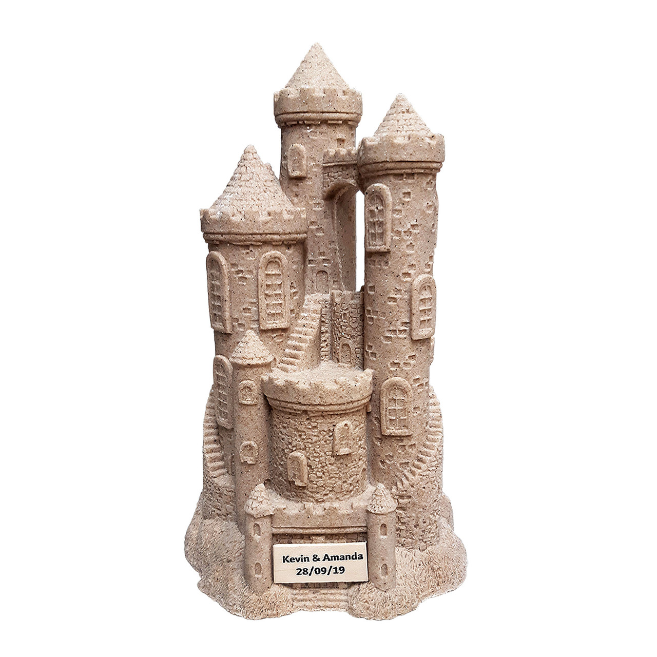 Sandcastle Figurines with Your Name