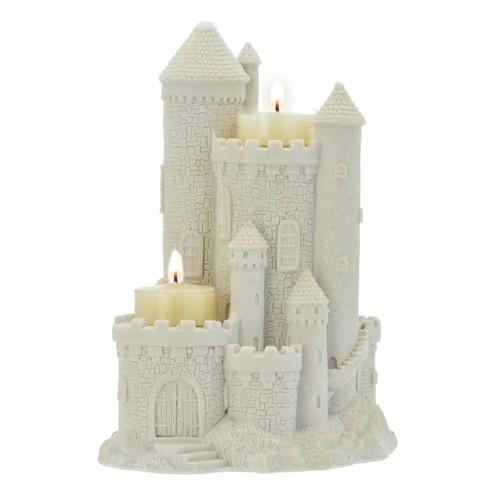 """8"""" Sand Castle Tea Light Centerpiece CAN719"""