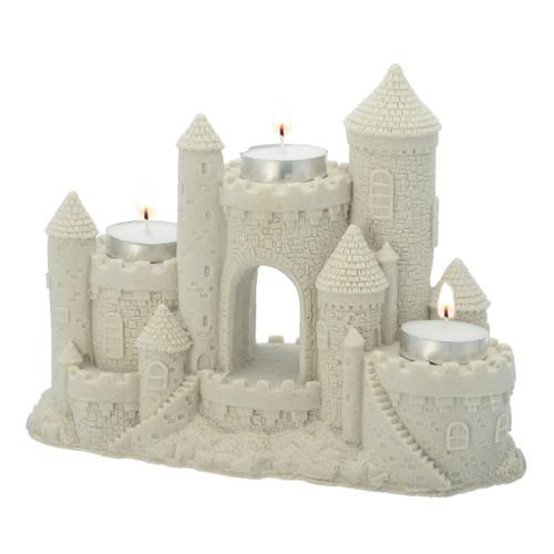 """9"""" Sand Castle Tea Light Centerpiece CAN755"""