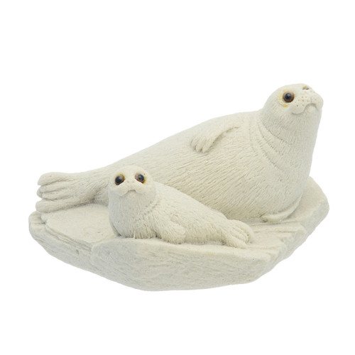 """5"""" Sand Baby & Mother Harp Seal HSL01"""