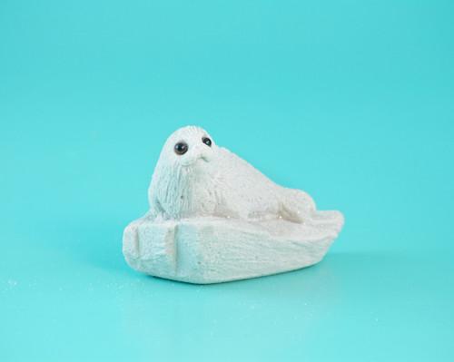 """2.5"""" Sand Baby Harp Seal HSL02"""