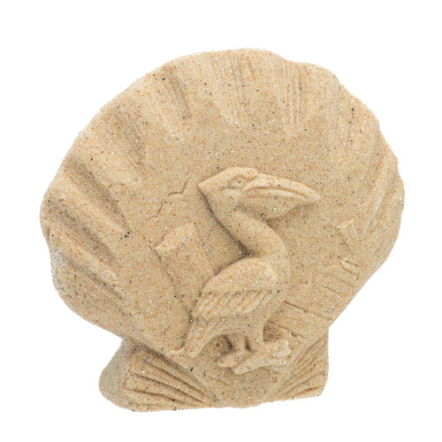 "5.5"" Sand Pelican Plaque SPPEL"