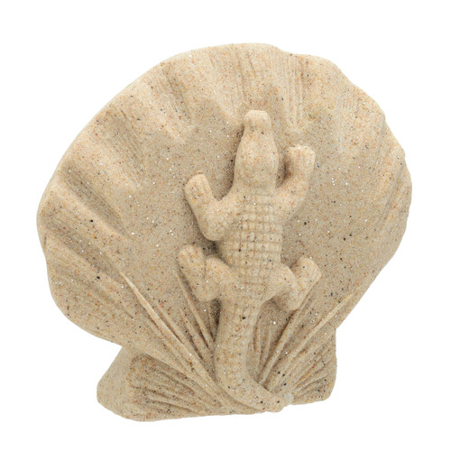 "5.5"" Sand Alligator Plaque SPAL"