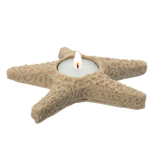 """5"""" Sand Starfish Candle Holder CANSF"""