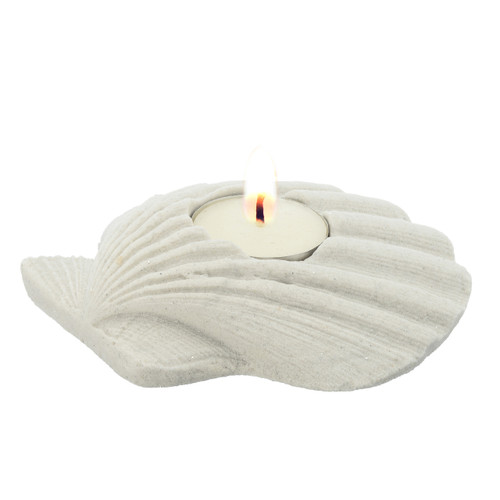 """5"""" Sand Shell Candle Holder CANSL"""